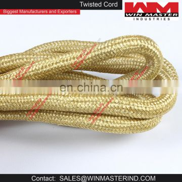wholesale twisted braided decorative cord trimming of Cords