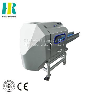 Pepper belt conveyor cutting machine vegetable cutting and mixing machine cut vegetables