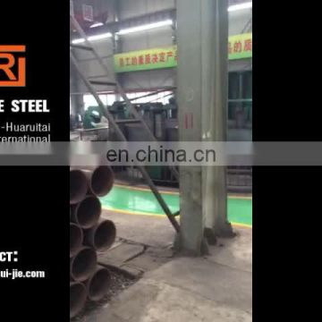 Q235 schedule 40 carbon erw steel pipe, 1 inch thin wall erw welded steel tube price per ton