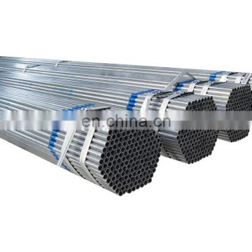 pre galvanised steel pipes tube