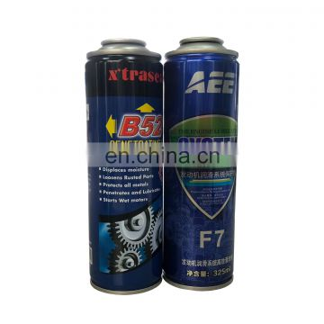 Aerosol spray paint can manufacturers with empty aerosol tin can from factory