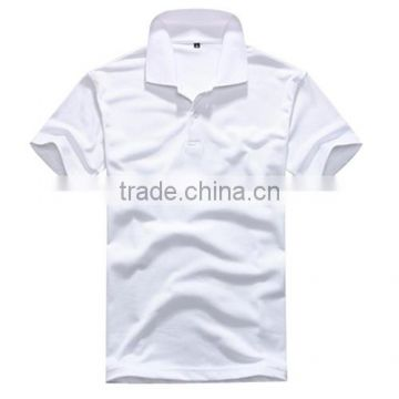 Wholesale Bulk Plain White Polo T shirt China Manufacturer Custom OEM Factory 100% cotton short-sleeved Mens Polo t shirts