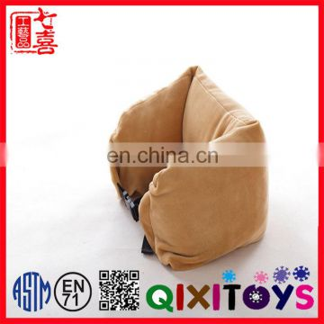 icti certificated plush toys custom plush pillow for Air trip
