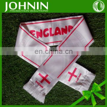 2014 hot selling customized world cup football fan scarves