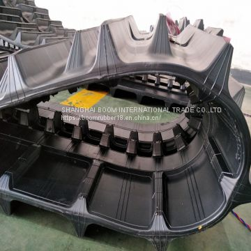Yanmar Types Harvester Spare Parts Rubber Tracks 500*90aw*54