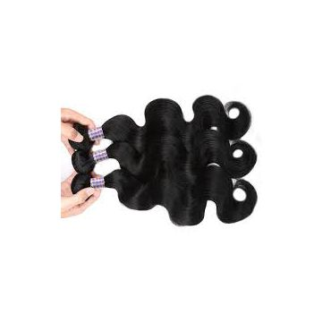 Bouncy And Soft Indian Cambodian Virgin Hair Body Wave No Chemical 18 Inches