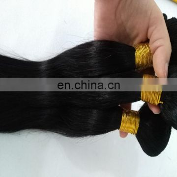 Wholesale natural hair extensions cheap price remy virgin brazilian hair weaving can dye into any color