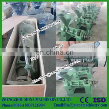 Pumpkin seed oil press machine/ olive oil press Germany/ hydraulic oil press