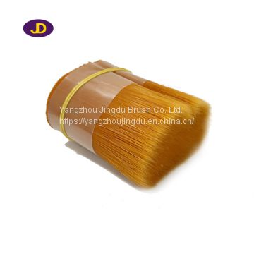 JDPONT Orange color PBT synthetic filament for paint brush