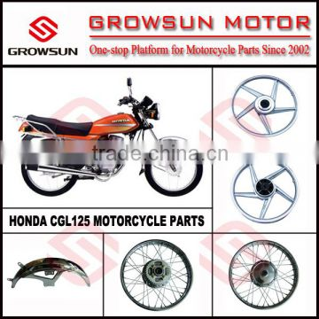 (South American Market)Hon  CGL125 Motorcycle Spare Parts Alloy wheel, rim  wheel, front fender