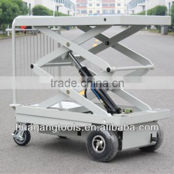Electric Motorcycle Lift Table With One Cylinder&two