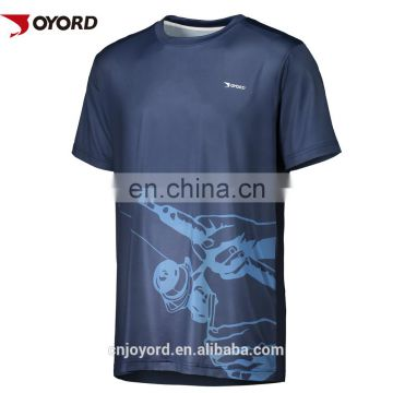 Wholesale custom sublimated fishing jerseys for boys