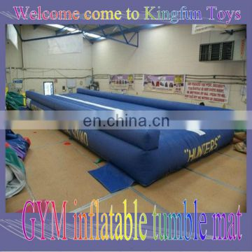 GYM Inflatable tumble mat