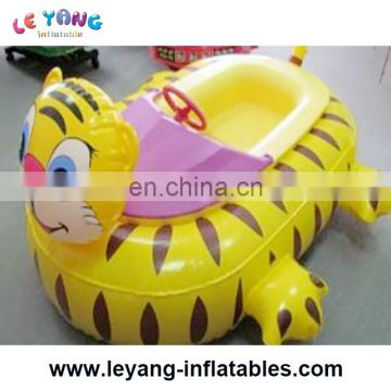 Power paddle kids bumper boat for water park rent
