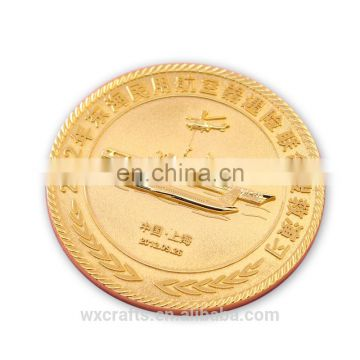 Handmade cheap wholesale double Commemorative gold coin