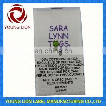 clothing label jewelry tags woven label