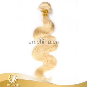 Large stock blonde color virgin bulk russian hair body wave wholesale accept paypal