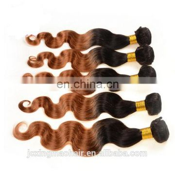 8A Ombre Malaysian Hair Body Wave 1B/27 Natural Black Blonde Malaysian Virgin Hair Ombre Body Wave 1pcs Ombre Human Hair