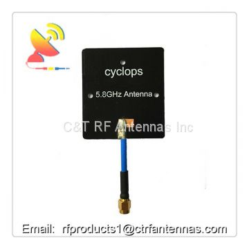 RF antenna FPV Panel Antenna 5.8G 14dBi High Gain RX RP-SMA Male for Multicopter UAV