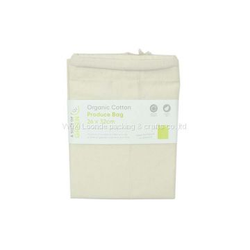 Organic Cotton Produce Bag - Medium