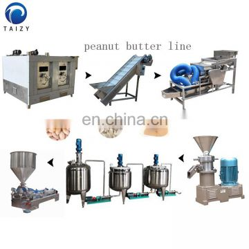 small peanut butter machine Peanut butter process line sesame butter machine