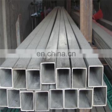 astm 316L a312 stainless steel square pipe