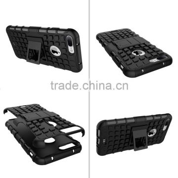 Hybrid 2 in 1 TPU&PC back cover case combo armor case shockproof wholesale cell phone accessories