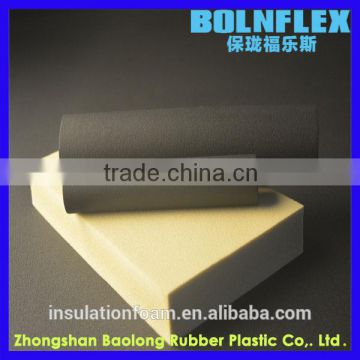 Flexible Fireproof Rubber Pipe Thermal Insulation Tube Or Air Conditioning Pipe Insulation