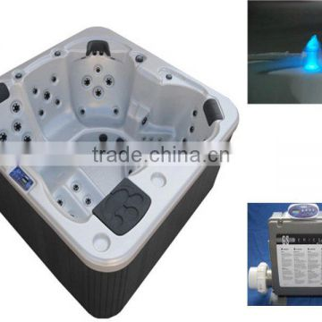 Hot Selling freestanding Outdoor spa cheap Acrylic Massage Bathtub (A-410)