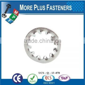 Made in Taiwan Internal Tooth Lock Washer