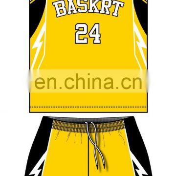 Custom team basketball jersey logo design