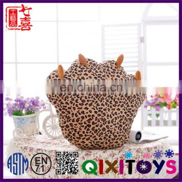 Hot selling custom animal paw shape pillow wholesale factory direct stuffed back support cushion