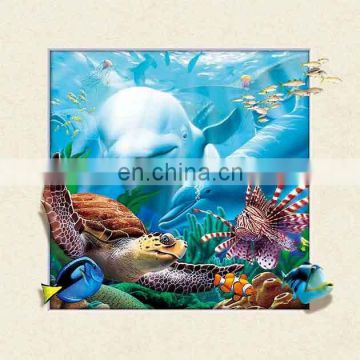 Lenticular 5D Picture Animal Poster Painting Home Wall Art Decor