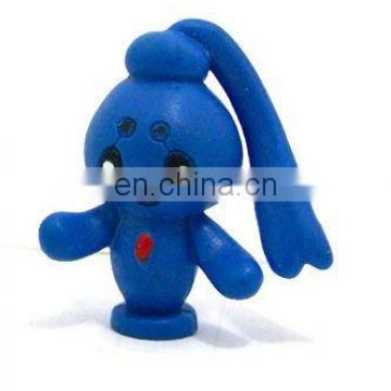 plastic cute doll promotional toy