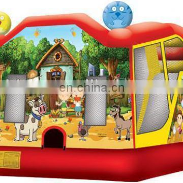 inflatable bouncer with slide, inflatable combo,china inflatables C4023