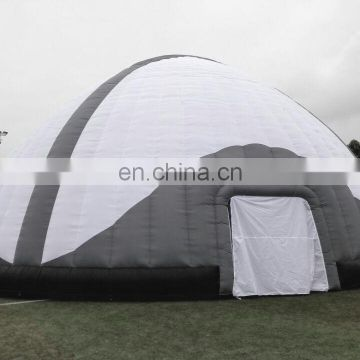 Barry outdoor inflatable astronomical dome tents for projection