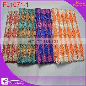 african cord lace crochet lace fabric african guipure