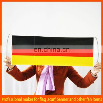 Hot sale Germany hand scrolling banner
