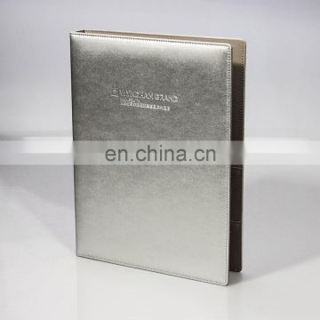 Quality Top Supplier Customizable Leather Restaurant Menu Book