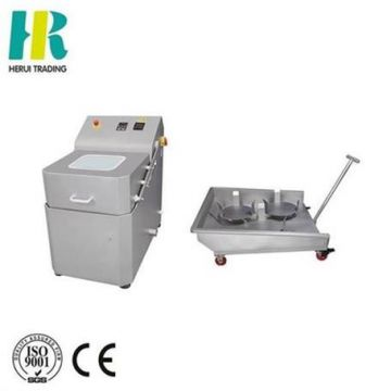 Centrifugal dehydrating vegetables processing machine
