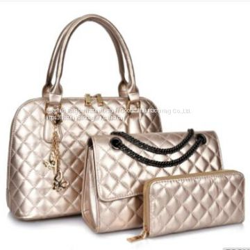 PU Leather Handbag 3 in 1 handbags for women Ladies Fashion Designer Handbags
