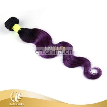 2016 New arrival straight ombre hair weaves human hair