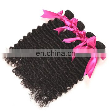 Hair for wig making deep wave brazil human hair extension
