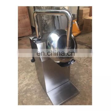 automatic small uv chocolate coating machine small nut coating machine