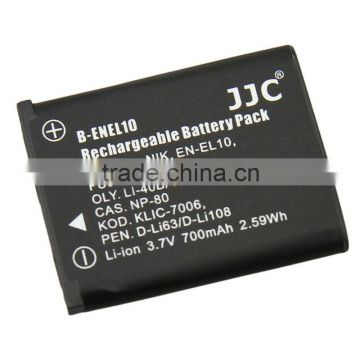 JJC for Li-ion Battery B-ENEL10 for FUJIFILM for NP-45 Battery