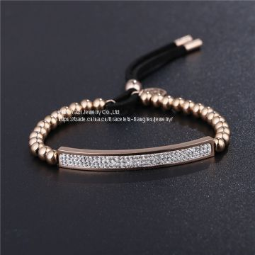 PVD Plating Stainless Steel Bracelets For Women