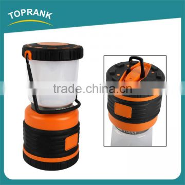 High quality outdoor ABS battery operated 1000 lumen SMD led camping lantern