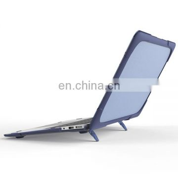 Hard PC Cover Case with Stand for Macbook Air 13 inch