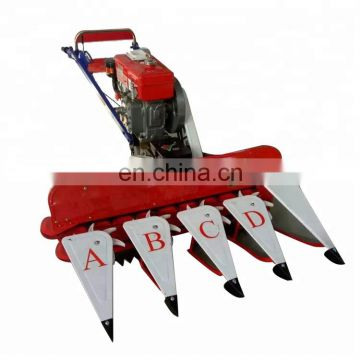 best quality millet harvester machine/grain harvesting machine beans harvester