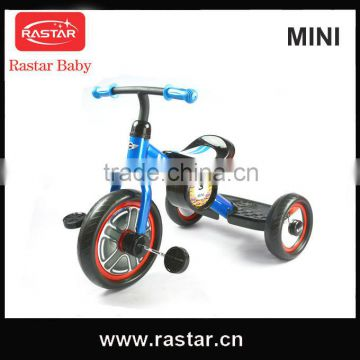 RASTAR MINI licensed new model good quality 2014 baby kids trikes